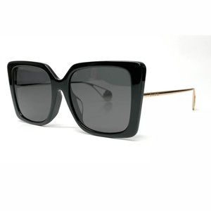 Gucci Women's Dual-Color Black Grey Sunglasses!